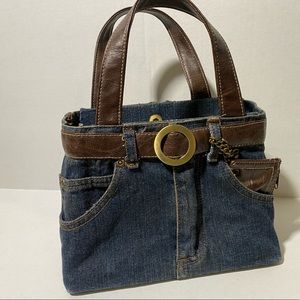 Vintage Denim Handbag